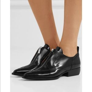 CHLOÉ Patent Leather Rylee black shoes
